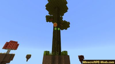 Easy Skyblock Minecraft PE Map