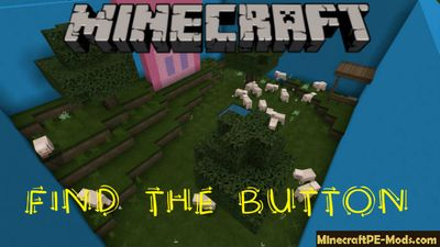 Find the button on the farms MCPE Bedrock Map 1.6, 1.5, 1.4.4