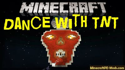 Dance with TNT Minecraft PE Bedrock Map