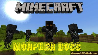 New Mob - Morpher Boss Minecraft PE Mod 1.2.16, 1.2.13