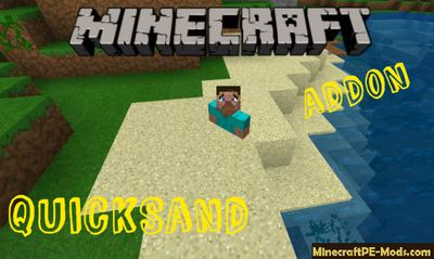 QuickSand For Trolling Minecraft Bedrock Addon