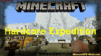 Hardcore Expedition Minecraft PE Bedrock Map
