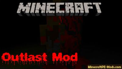 Outlast Minecraft PE Modded Map 1.5.0, 1.3.0, 1.2.16, 1.2.13