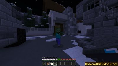 Protection of Mountain Base Minecraft PE Map