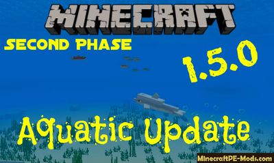 Download Minecraft PE 1.5.0 APK Aquatic Update Full Version