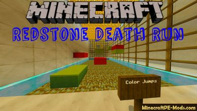 Redstone Death Run Minecraft PE Map