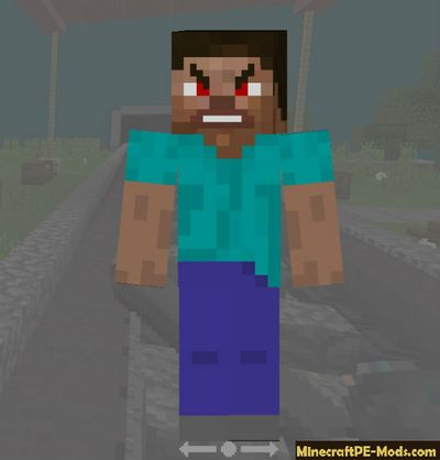 Skin Pack with Emotions For Minecraft Bedrock
