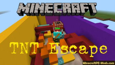 LG TNT Escape Parkour Minecraft PE Map