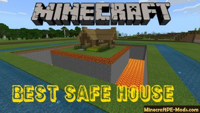 Best Safe House Map For Minecraft PE Bedrock