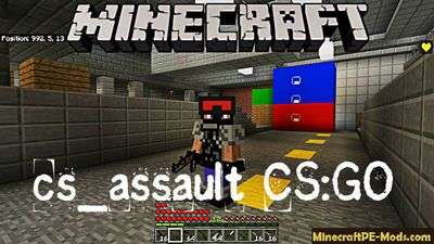 cs_assault CS:GO Minecraft PE Map