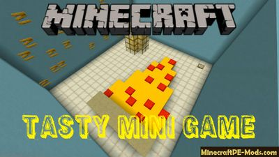 Tasty Mini Game Minecraft PE Map