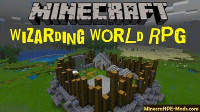 Wizarding World RPG Minecraft PE Map