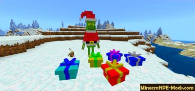 Grinch Stole Christmas Minecraft PE Mod 1.9.0 For iOS, Android