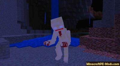 SCP-096 Horror Mob Minecraft PE Addon