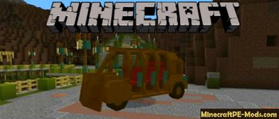 Subterranean Vehicle Minecraft PE Addon