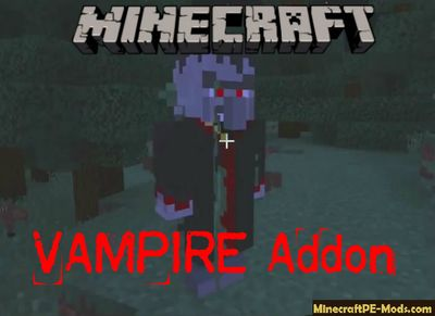 Vampire Minecraft PE Mod/Addon 1.8 For iOS/Android