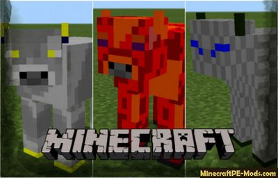 New Magic Cows Plus Minecraft PE Addon 1.8 iOS, Android