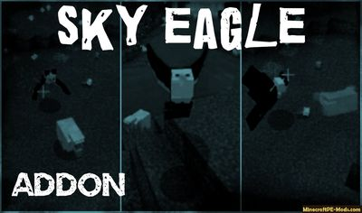 Sky Eagle Addon For Minecraft PE iOS, Android