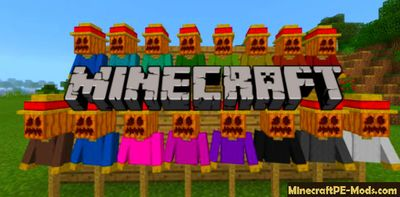 Decorative Scarecrows Minecraft PE Addon