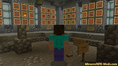 Stone Block Minecraft PE Mod 1.8.0, 1.7.0 iOS/Android