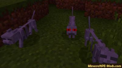 Billey's Mobs Minecraft PE Addon For iOS, Android