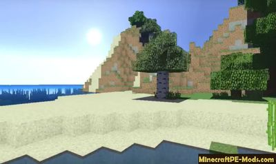 EVO Shaders Pack Mod For Minecraft PE 1.10.0.4, 1.9.0.15, 1.8.1.2