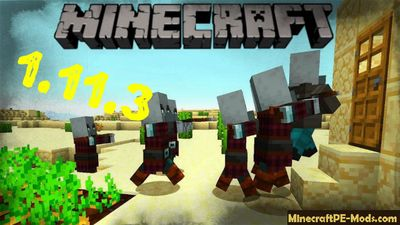 Download Minecraft PE v1.11.3.0 (MCPE) APK free Village & Pillage