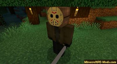Freddy Krueger vs Jason Minecraft PE Mod 1.11.4.2, 1.11.1