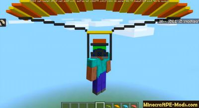 Parachute Minecraft PE Addon For iOS/Android