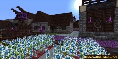 Fantasy 64x Minecraft PE Texture Pack iOS/Android 1.12.0, 1.11.1