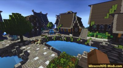 Wolfhound Autumn 64x64 Medieval Realistic Texture Pack 1.12, 1.11