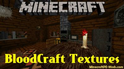 BloodCraft Minecraft PE Texture Pack iOS/Android 1.12.0, 1.11.1