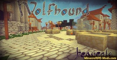 Wolfhound Heavenly 64x Minecraft PE Texture Pack 1.12.0, 1.11.1