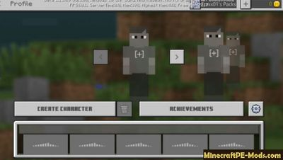 New Skin Editor Unlocker Minecraft PE Addon 1.13.0.9 iOS/Android