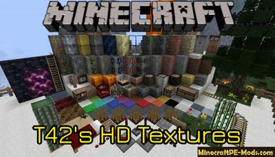 T42′s HD 64x64 Horror Texture Pack For Minecraft PE 1.13.0, 1.12.1