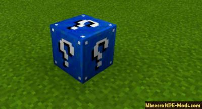 6 New Lucky Blocks Minecraft PE Mod 1.13.0.4, 1.13.0.2, 1.13.0