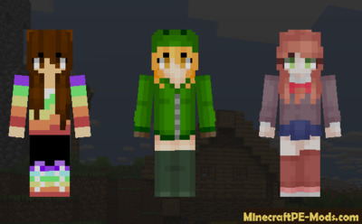 Casual SkinPack Update For Minecraft PE