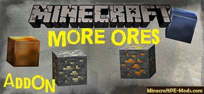 More Ores+ Swords Minecraft PE Mod - Addon 1.13.0.2, 1.13.0