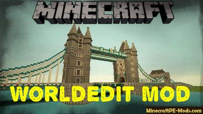 WorldEdit Android Mod For Minecraft PE 1.12.0, 1.11.4