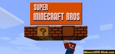 Super Minecraft Bros Skin Pack For Minecraft PE