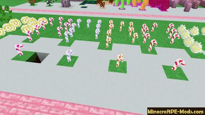 Candylicious 2 16x Minecraft PE Texture Pack 1.13.0, 1.12.0, 1.11.4