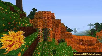 Zedercraft Autumn HD 128x Minecraft PE Texture Pack 1.12.0, 1.11.4