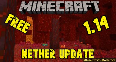 Download Minecraft PE v1.14.0 APK Nether Update free Version