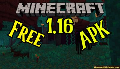 Download Minecraft PE 1.16.0.2 (MCPE) APK free Version