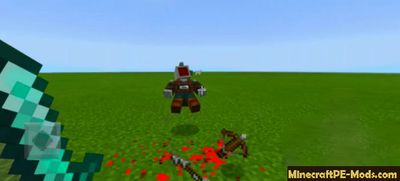 Custom Death Entities Animation 1.0.7 MCPE Addon