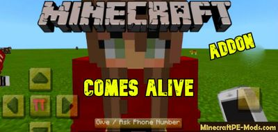 Happy Family / Comes Alive Minecraft PE Addon