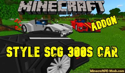 Style SCG 300s Car Addon For Minecraft PE