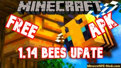 Download Minecraft PE 1.14.0.1 (MCPE) APK free Bees Update