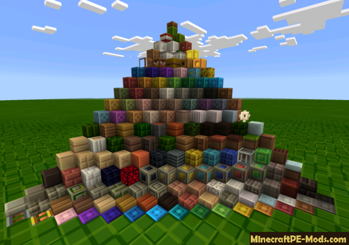 Tiny Pixels Texture Pack For Minecraft PE iOS, Android Download
