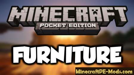 Mrcrayfish S Furniture Mod For Minecraft Pe Ios Android Download